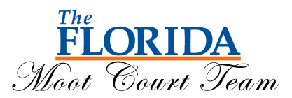 The Florida Moot Court Team